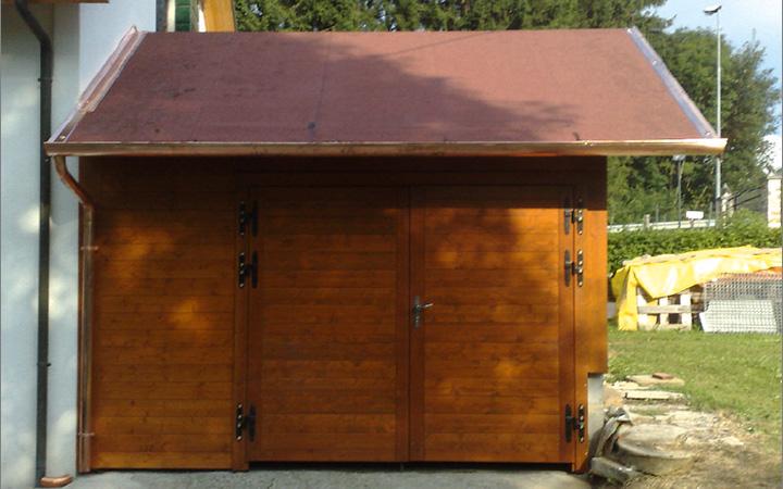 Padova cura la tua auto con un garage in legno for Garage automobile 38 la buisse