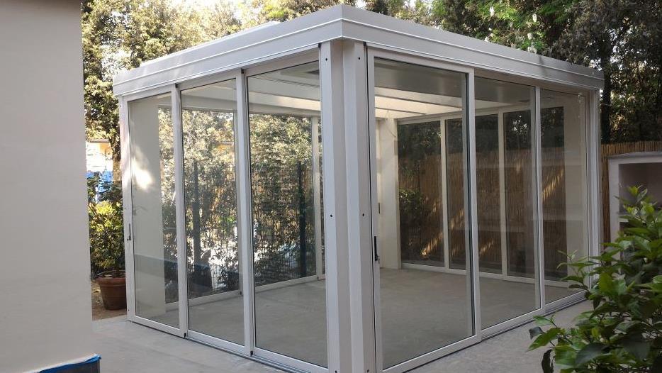 Vetrate scorrevoli per esterno woodarchitecture padova - Vetrate da esterno ...