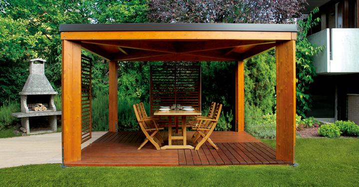 Padova gazebo in legno vuoi mettere un gazebo in legno for Listino prezzi case legno
