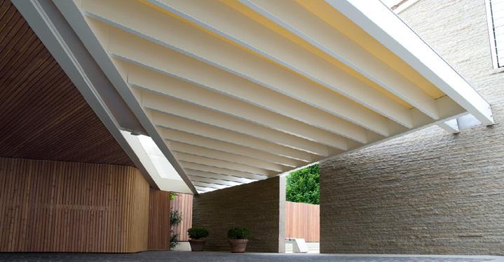 Padova progettiamo tettoie in legno di pregio - Tetto in legno bianco ...